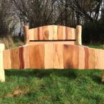 Невысокая кровать своими руками из дерева фото