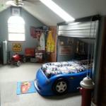 Ремонт детской комнаты фото для мальчика на крыше