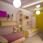 Ремонт в детской спальне фото для двух детей