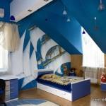 Ремонт в детской спальне фото на крыше