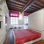 Удобная выдвижная кровать подиум для мансарды