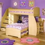 Удобные детские кровати для девочек фото