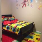 Яркие кровати для мальчиков от 3 лет