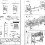 как собрать детскую кроватку инструкция фото