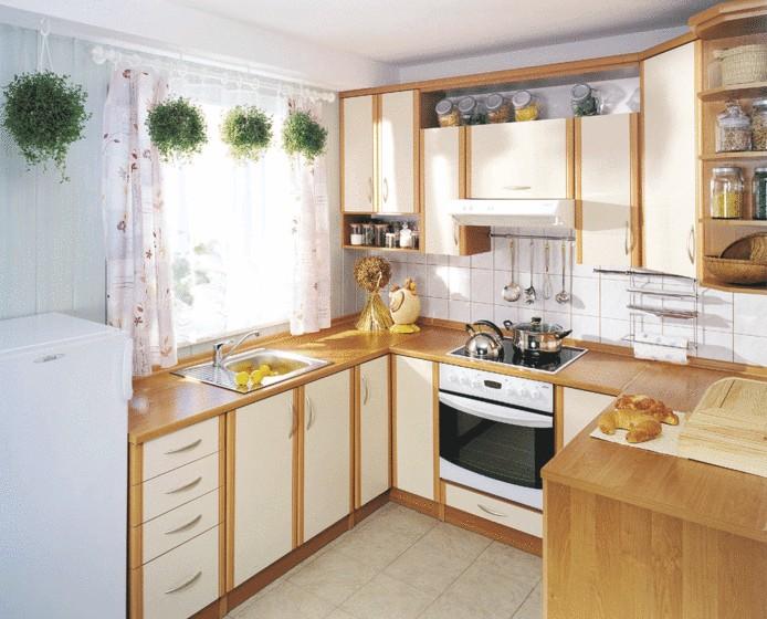 Дизайн маленькой кухни своими руками