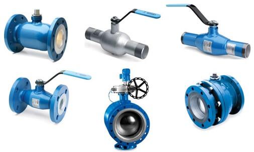 Классификация трубопроводной арматуры
