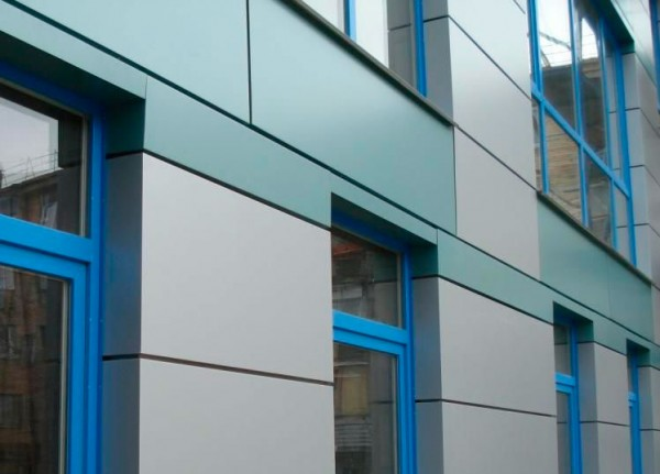 Алюминиевые композитные панели для фасада