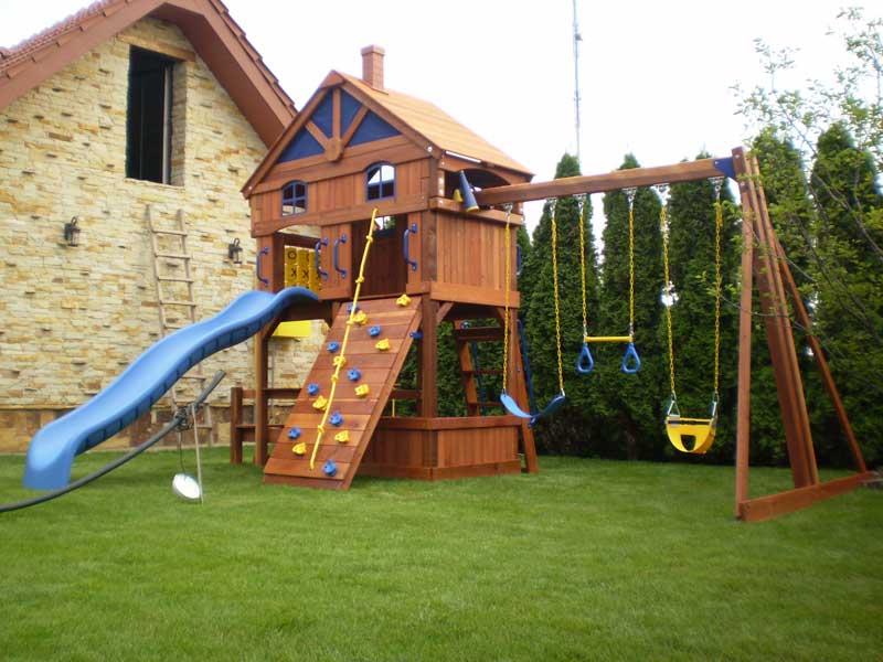 Детская площадка или хороший отдых для ваших детей
