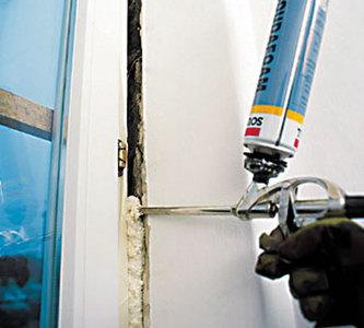 Монтажная пена и ее использование в ремонте
