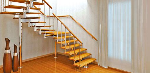 Правильно выбираем тип лестницы для дома