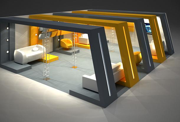 Выставочные стенды для рекламы товаров для дома