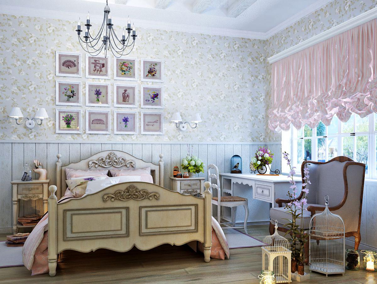 Детская комната в стиле Винтаж
