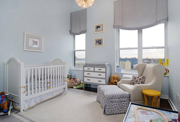 Интерьер для новорожденного