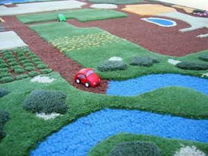 Развивающий коврик автотраса