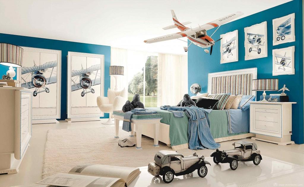 Несколько творческих фото идей для оформления детской комнаты