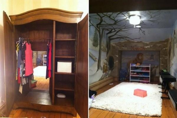 Детская комната в стиле Нарнии
