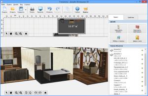Планировщик квартиры в режиме 3D, scr2