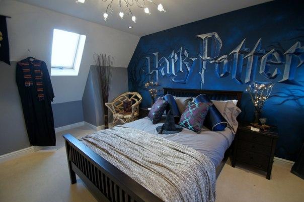 Детская комната в стиле Гарри Поттера