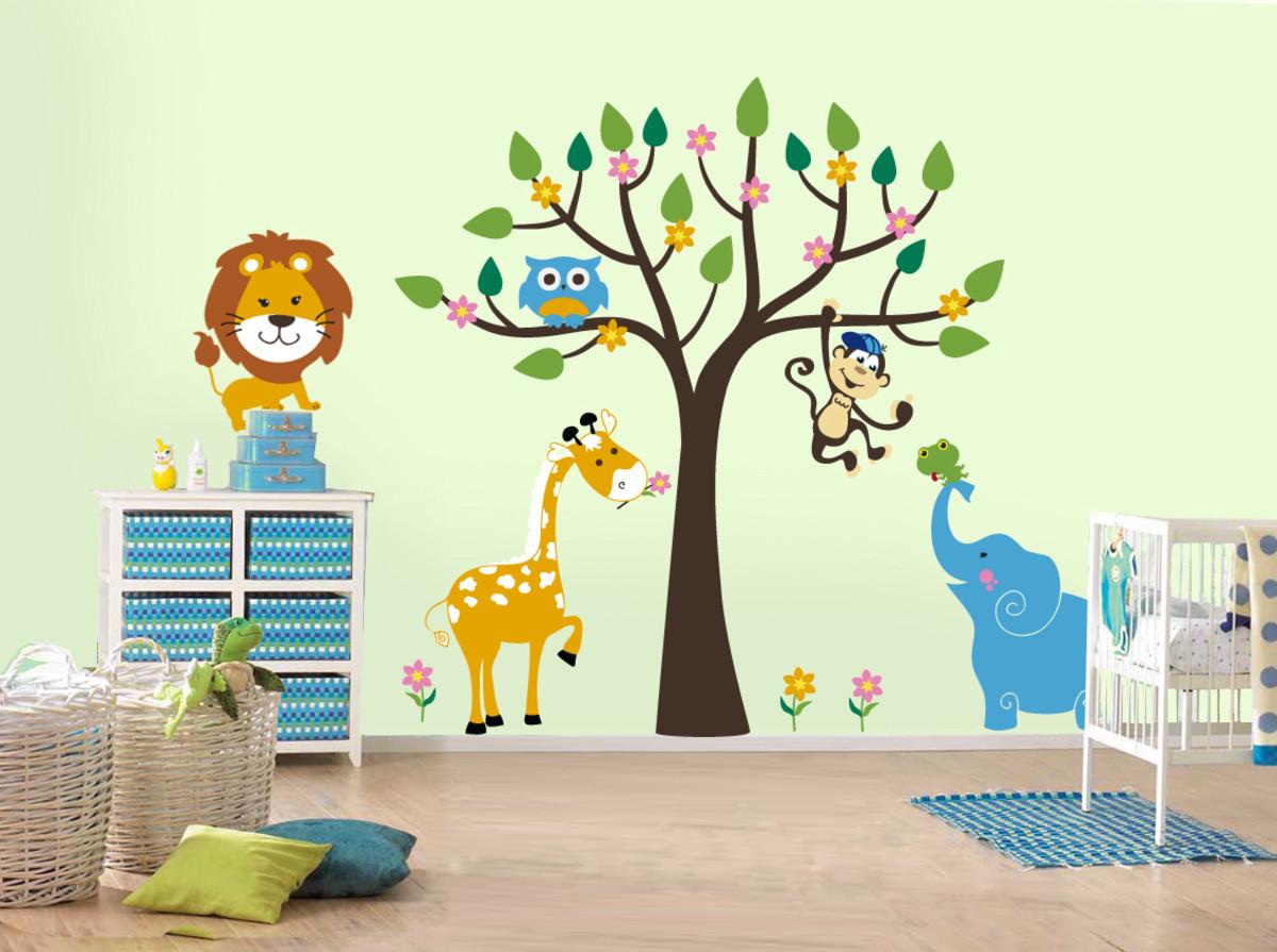 Картинка для стены детского сада