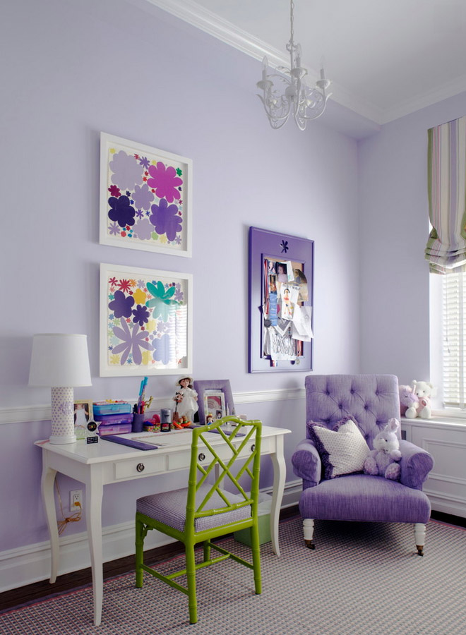 Как расставить мебель в детской комнате