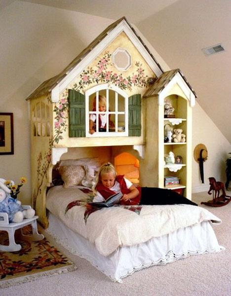Детские игровые домики для комнат1