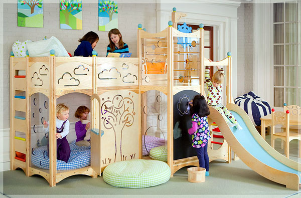 Детские игровые домики для комнат3