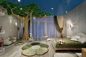 Интересные идеи декора детской комнаты2