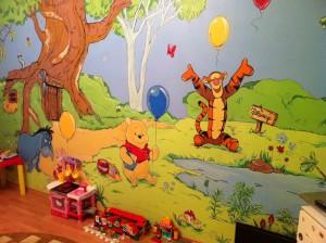 Интересные идеи декора детской комнаты5