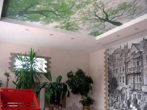 Тканевые натяжные потолки2