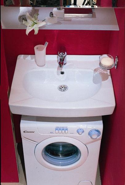 умывальник для маленькой ванной комнаты