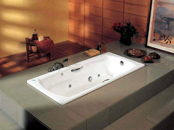 Стальные ванны Roca (Испания)
